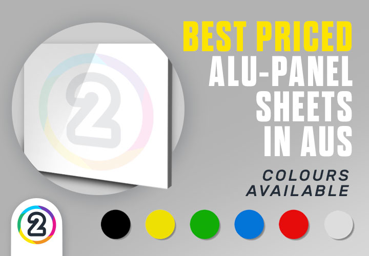 Order sheets of aluminium composite panel (ACP, Alu-Panel, Signboard, Sandwich Board) online Australia wide from Design 2 Print Today!